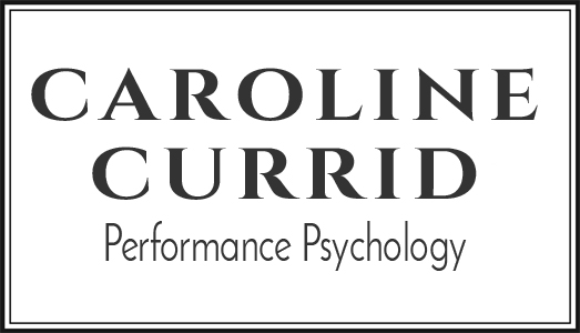 Caroline Currid Performance Psychology Logo